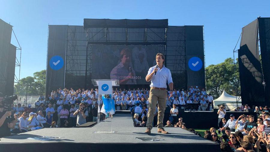 """Lacalle lanza campaña y dice que es su """"mejor momento"""" para gobernar Uruguay"""