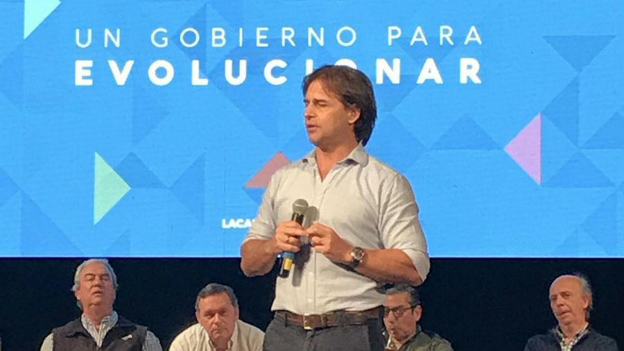 Lacalle Pou favorito del Partido Nacional en internas a Presidencia de Uruguay