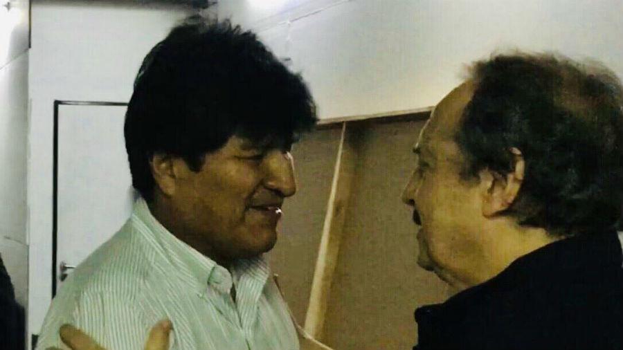 """Alfonsín expresó su """"solidaridad"""" a Evo Morales"""