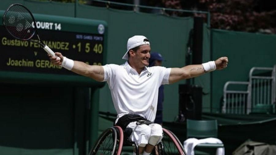 Gustavo Fernández se coronó en Wimbledon